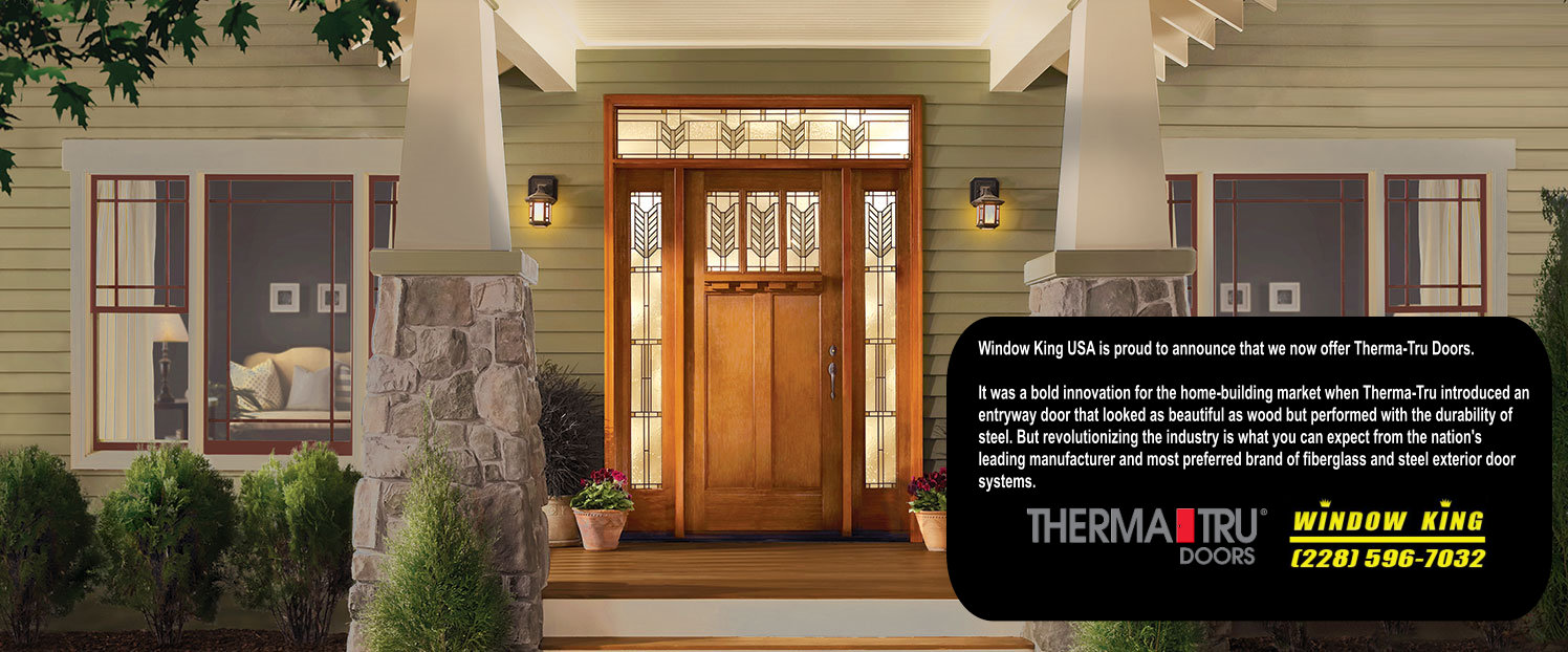 Window king offers a wide variety of patio doors and storm doors each and every door we install in your home is custom manufactured to your precise size